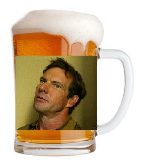 Dennis Quaid Mug Shot
