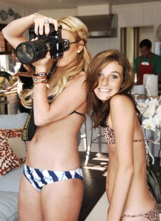 Lindsay & Ali Lohan