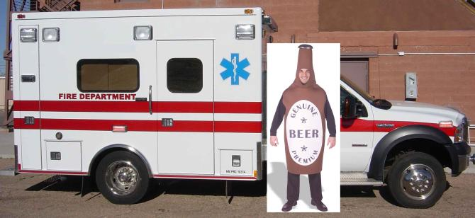 Med Unit Beer Bottle