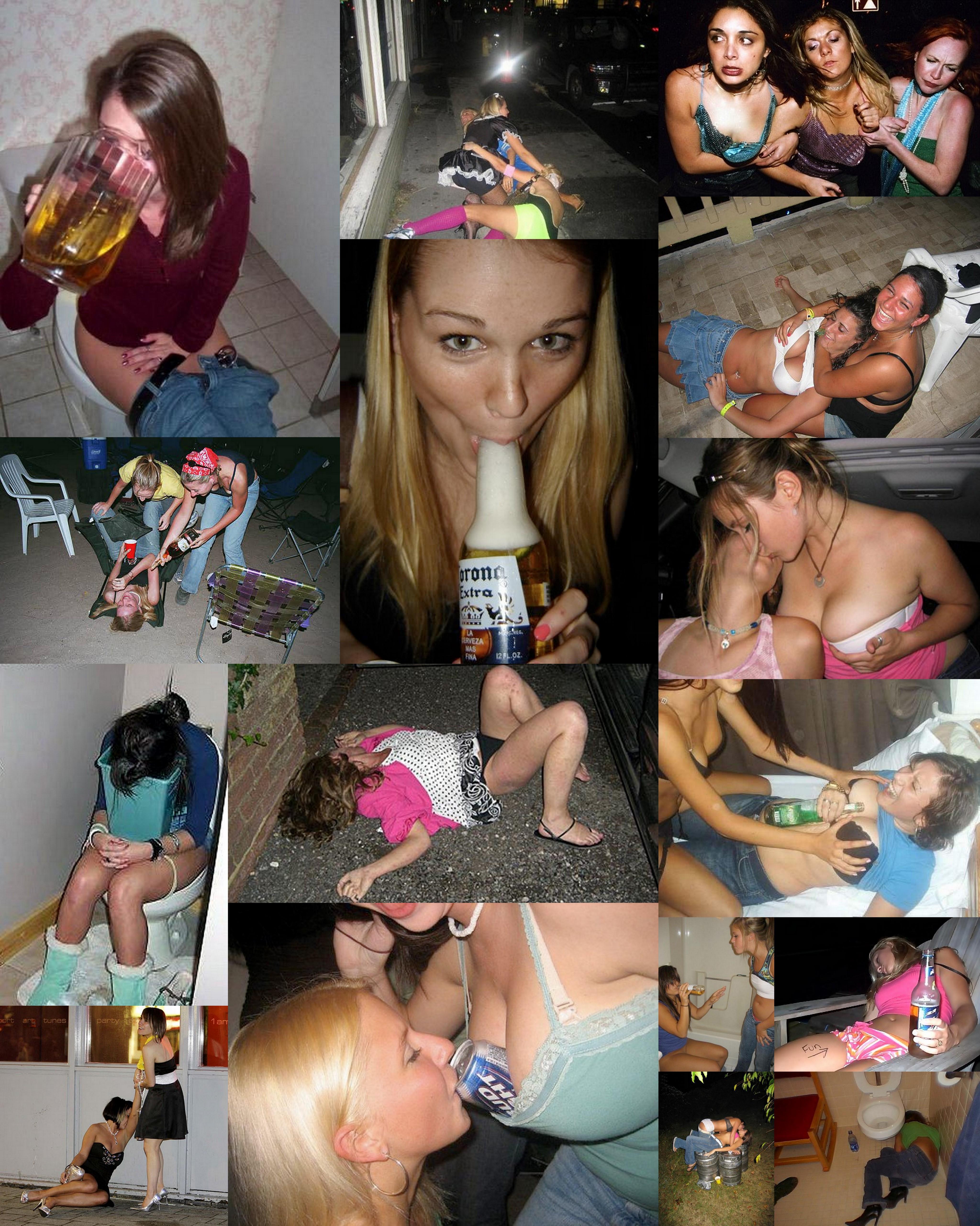 Пьяный девичник