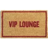 door mat - VIP Lounge