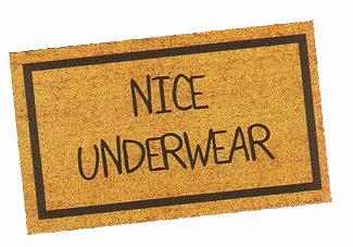 Underwear Doormat