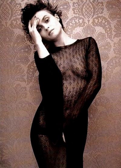 Helena Bonham Carter posa desnuda por una buena
