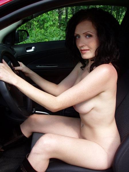Johannsen topless women driving nude insane