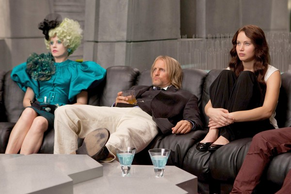 Effie Haymitch Katniss in the Bar None