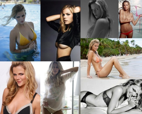 Brooklyn Decker Battleship Collage
