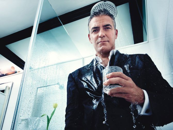 George Clooney in the Bar None