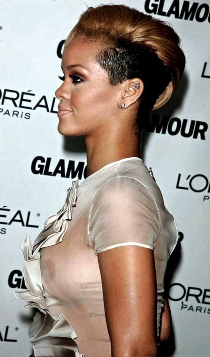 Rihanna 05 see through