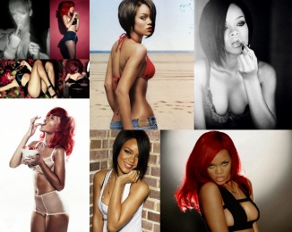 Rihanna Battleship Collage