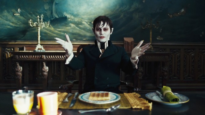 Dark Shadows Still, Johnny Depp