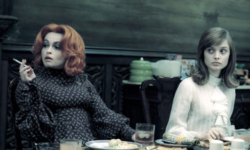 Helena Bonham Carter, Bella Heathcote, Dark Shadows Still