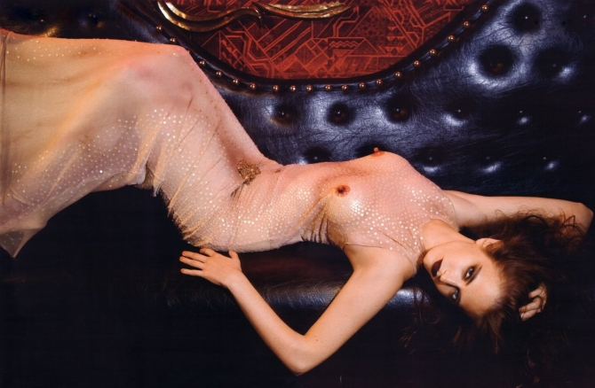 Eva Green 03 see through Vogue