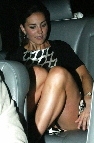 Kate Middleton 03 Upskirt