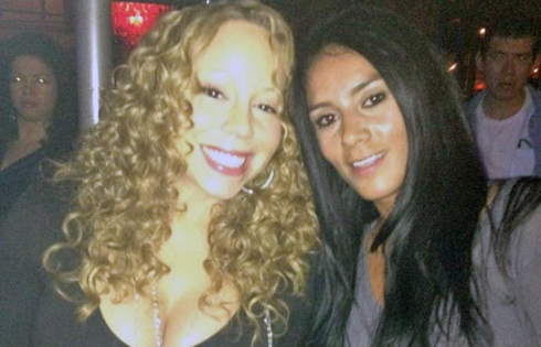 Mariah Carey at the Abbey - West Hollywood