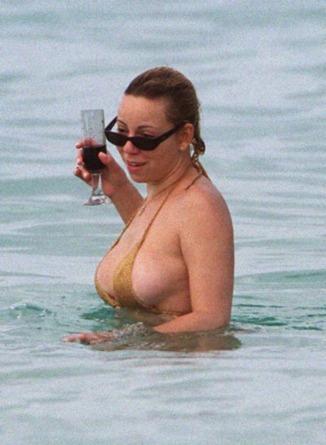 Mariah Carey Hanging Out
