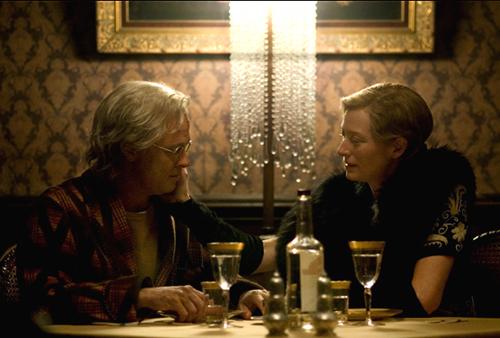 Tilda Swinton in the Bar None