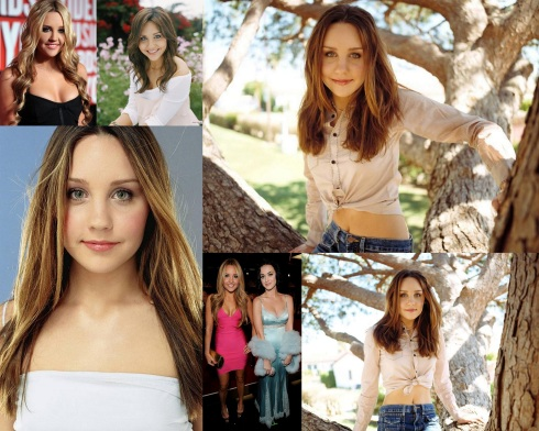 Amanda Bynes 2012-04-07 Big Head collage wallpaper