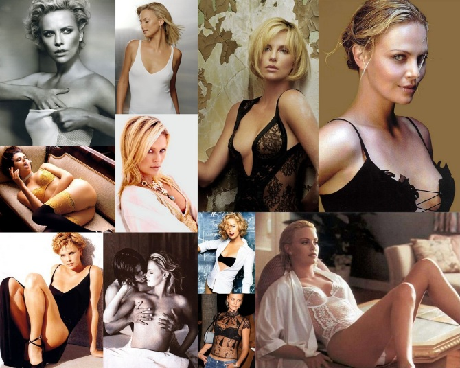 Charlize Theron 2012-06-05 Collage
