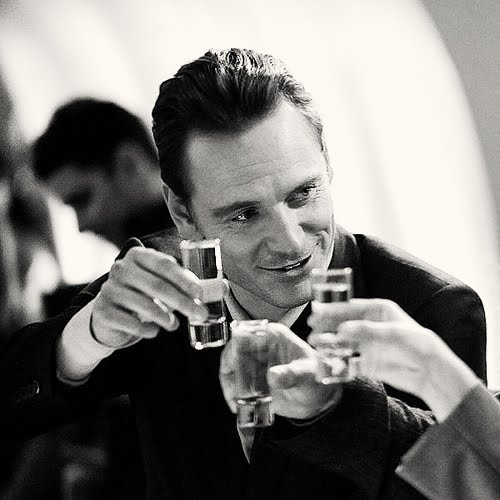 Michael Fassbender in the Bar None
