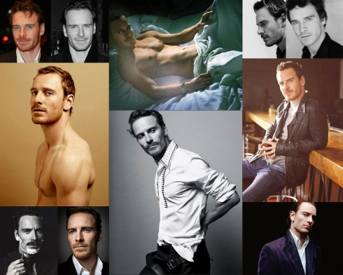 Michael Fassbender Collage