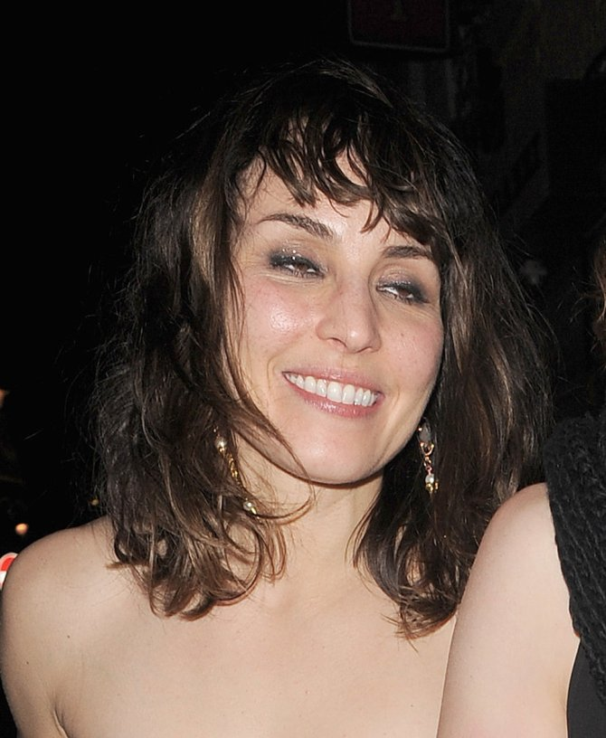 Noomi Rapace Leaving the Bar None (close up)