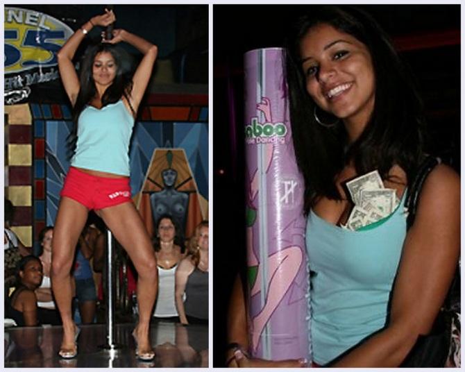Rima Fakih Stripper Pole