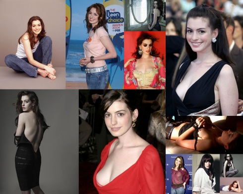 Anne Hathaway 2012-07-25 Collage
