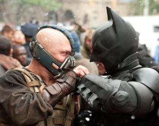 Dark Knight Rises 07 still movie review Christian Bale Tom Hardy
