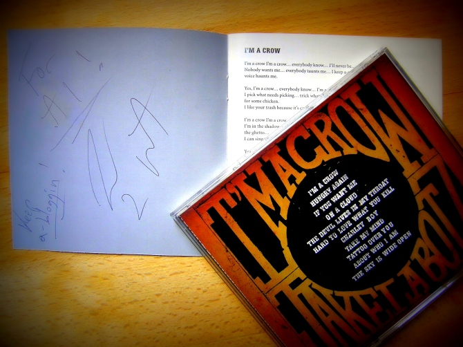 "Jake La Botz Autographed copy of ""I'm A Crow"""