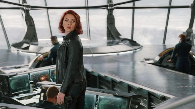 The Avengers Assassin Jeans Scarlett Johansson