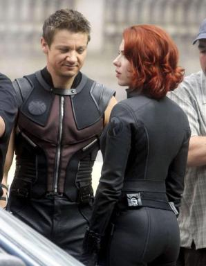 The Avengers Used Scarlett Johansson and Jeremy Renner Sex intro