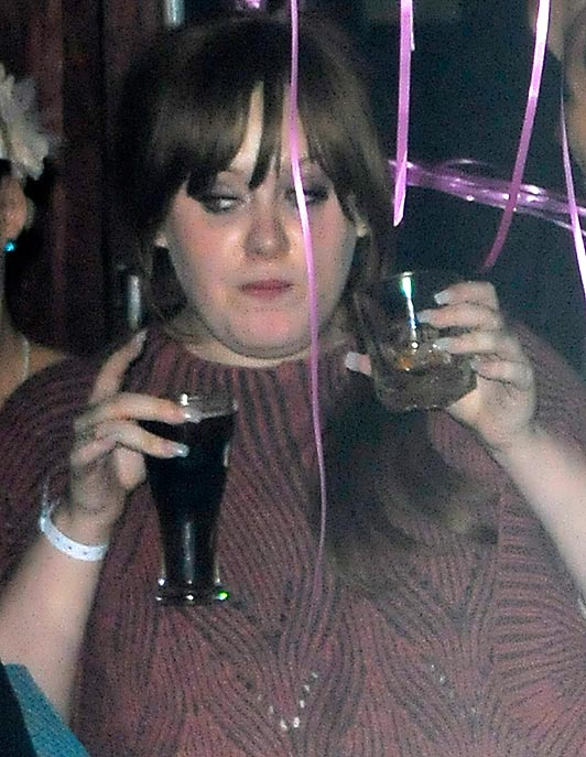 Adele in the Bar None