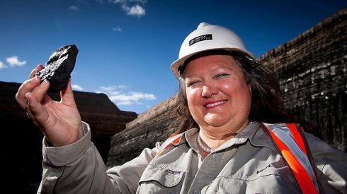 Gina Rinehart Let Them Eat Cake
