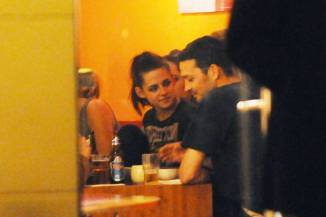 Kristen Stewart & Rupert Sanders in the Bar None