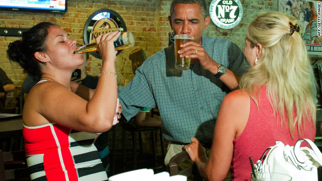 Obama Honey Blonde Beer