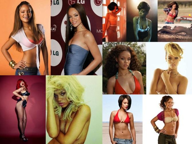 Rihanna Dregs 2012-09-02 Collage Wallpaper