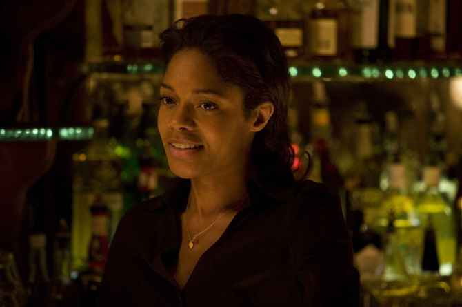 Naomie Harris 07 in the Bar None booze revooze