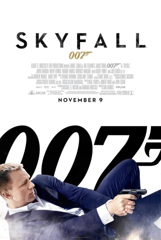 Skyfall Poster Bar None Booze Revooze