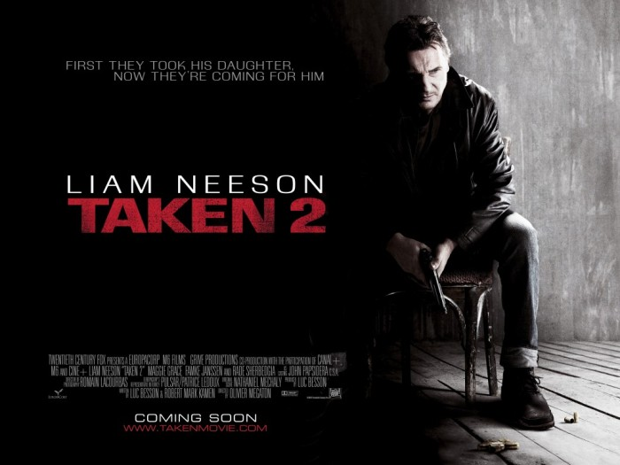 Taken 2 00 Poster Bar None Booze Revooze