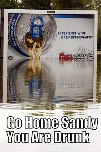 Go Home Sandy You Are Drunk - Bar None