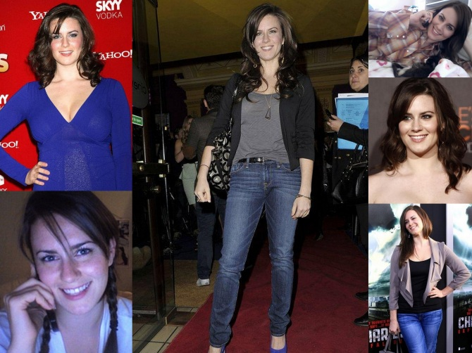 Katie Featherston 2012-11-02 Paranormal Activity Bar None Booze Revooze Collage Wallpaper