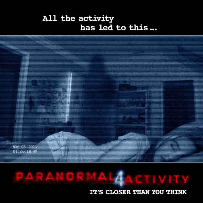 Paranormal Activity 4 poster Bar None Booze Revooze
