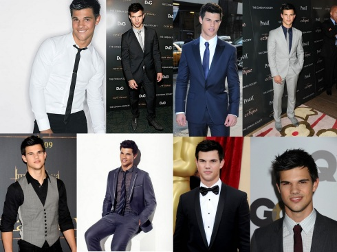 Taylor Lautner Suit Up Taylor Lautner 01 Twilight: Breaking Dawn (Part 2) Bar None Booze Revooze Wallpaper