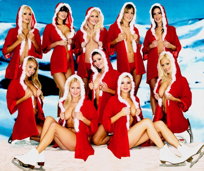 Sexy Santa's Helper 05 wallpaper Bar None Dregs