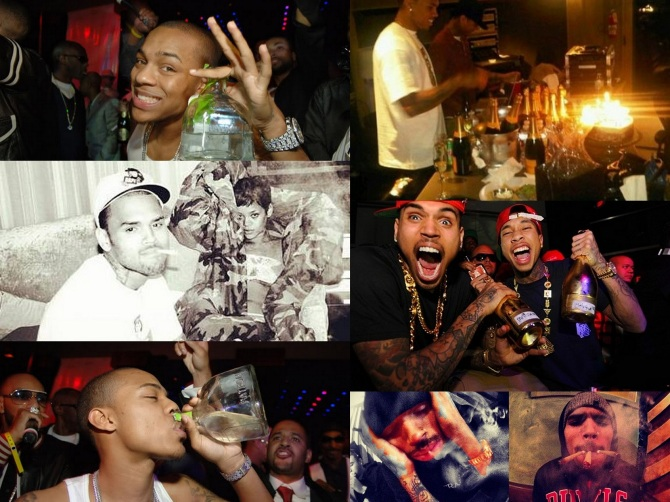 Chris Brown in the Bar None Bar None Dregs Wallpaper