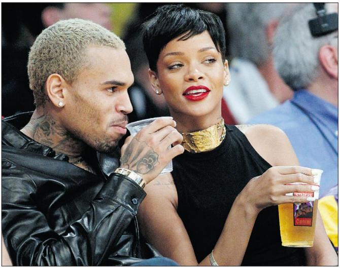 Chris Brown 04 with Rihanna in the Bar None Bar None Dregs