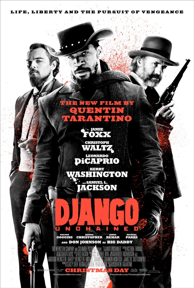 Django Unchained poster bar none booze revooze