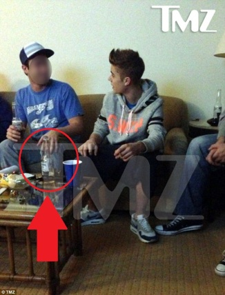 Justin Bieber Beerber bar none dregs booze nooze