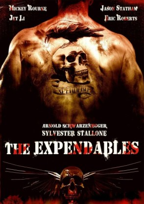 The Expendables poster bar none booze revooze