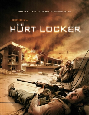 The Hurt Locker poster Bar None Booze Revooze